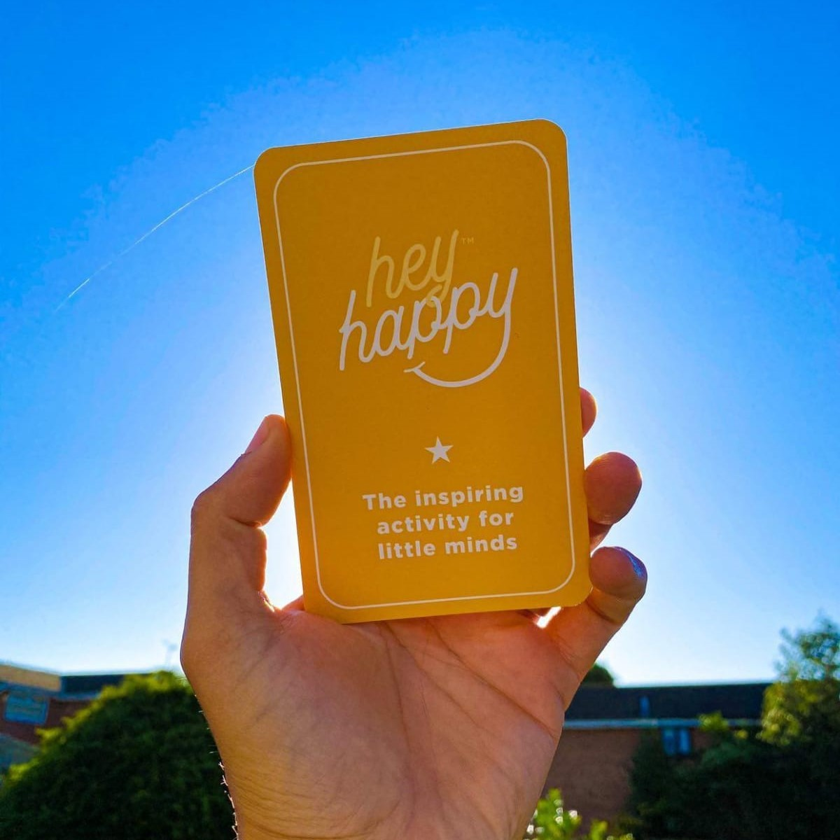 Hey Happy card example